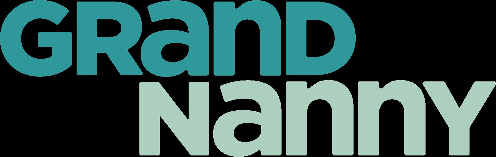 Grandnanny teal logo